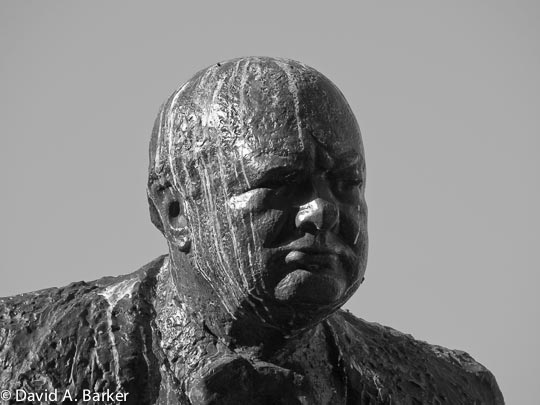 Winston Churchill & Bird Poop
